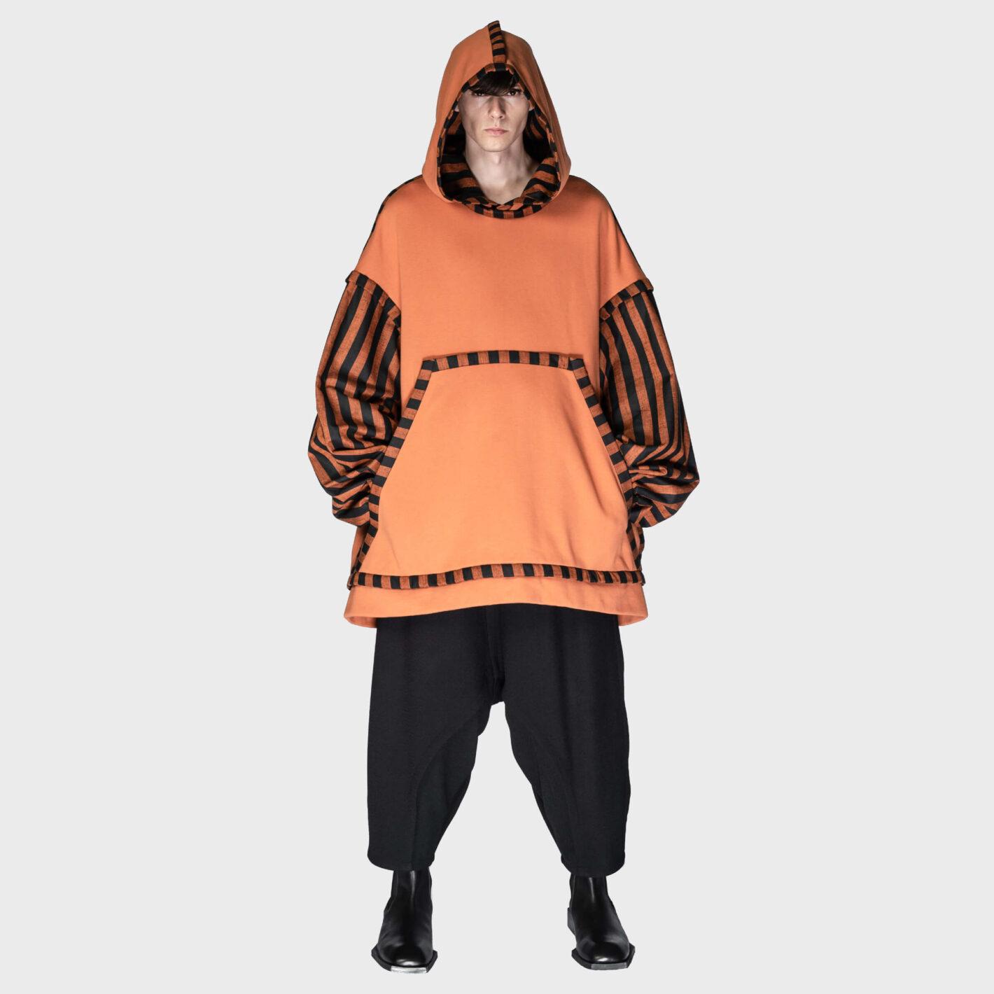 SOSNOVSKA Attachment Sleeves Hoodie