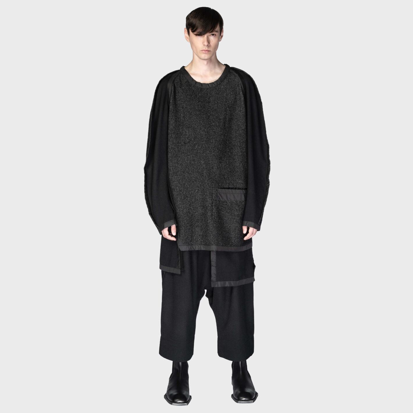 SOSNOVSKA Framed Edges Sweater
