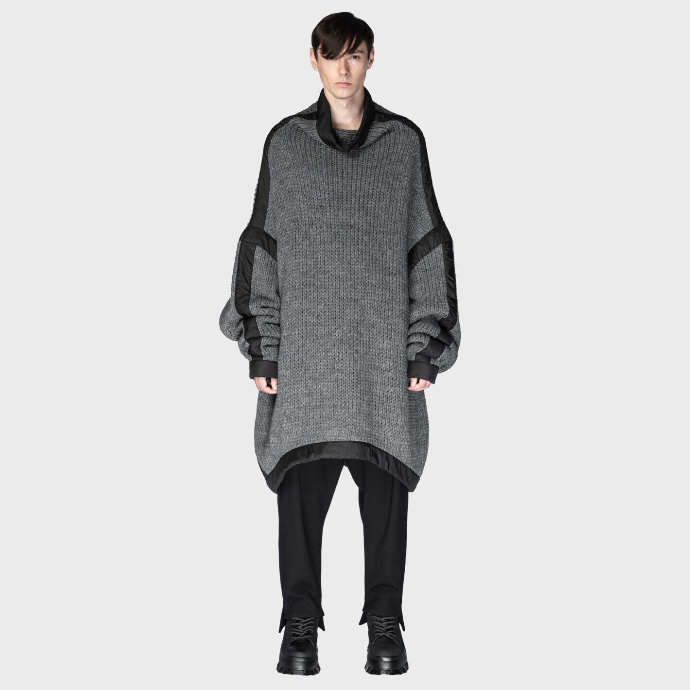 SOSNOVSKA Pulled Down Hyper Sweater