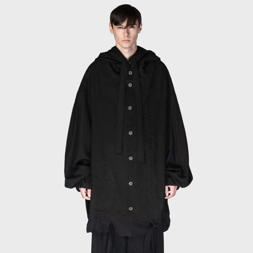 SOSNOVSKA Hooded Envelope Jacket