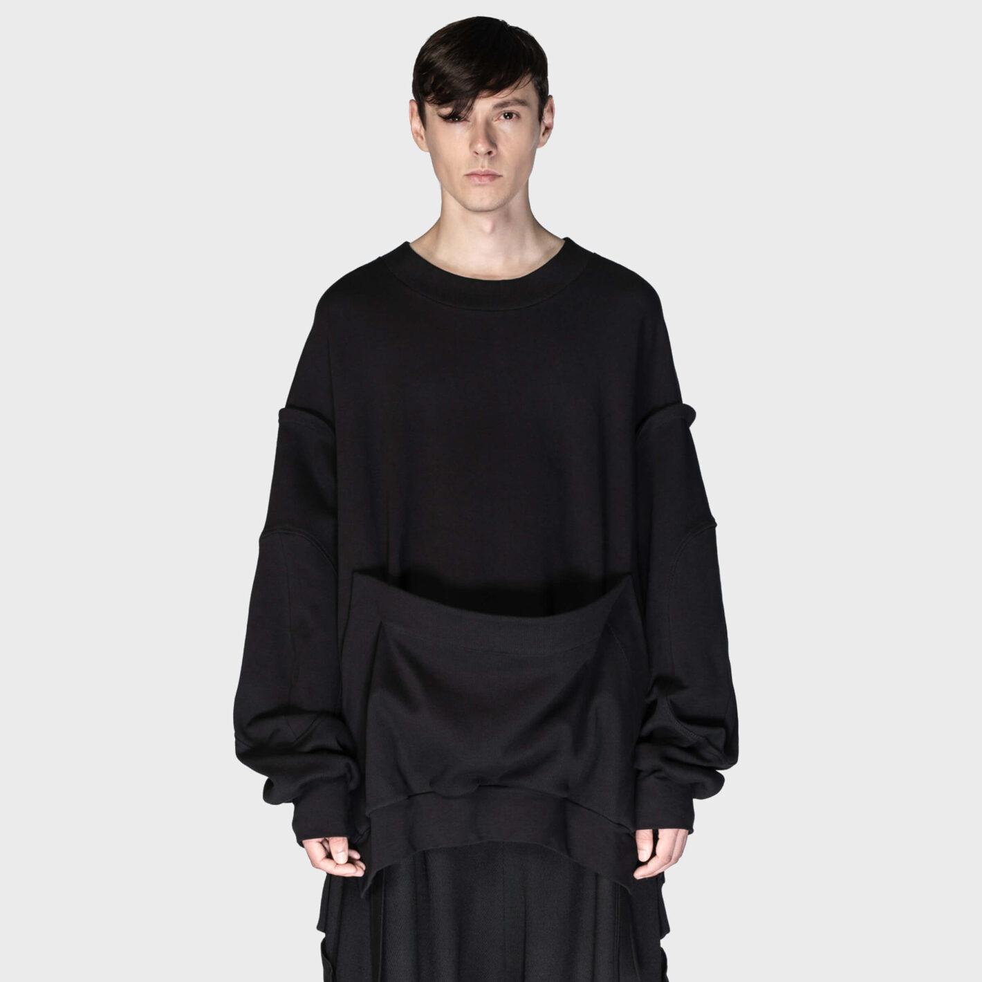 SOSNOVSKA Hanging Pocket Sweatshirt