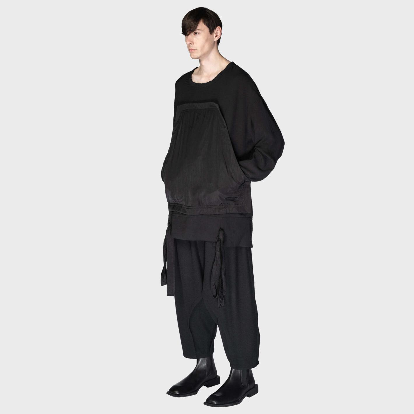 SOSNOVSKA Wide Shirted Longsleeve