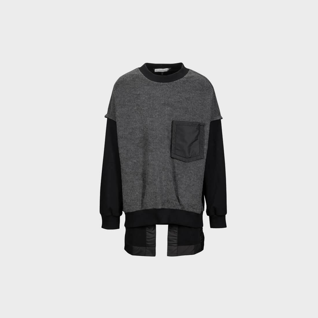 SOSNOVSKA Wrong Cut Bottom Sweatshirt