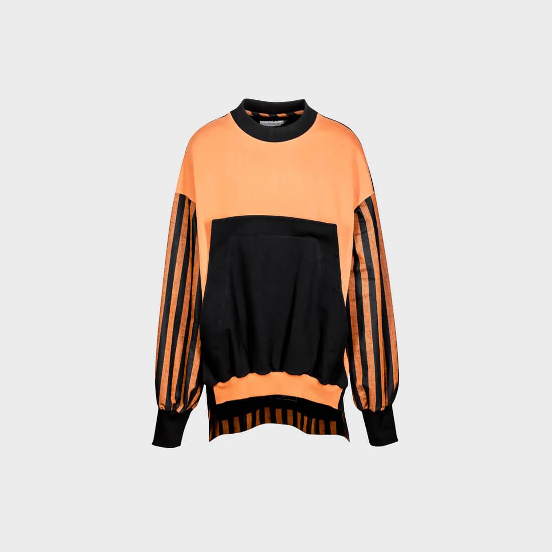 SOSNOVSKA Abstract Combination Sweatshirt